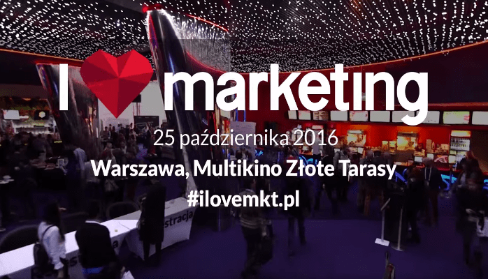 "Partnerujemy konferencji ""I love marketing"""