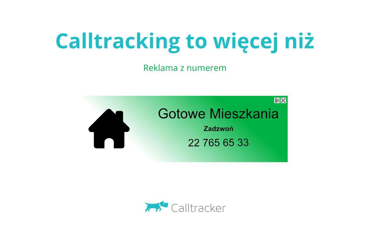 Calltracking telefonów od dzwoniących bezpośrednio z reklamy